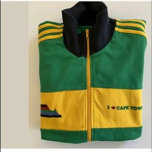Adidas Trifold Cape Town South Africa Track Jacket